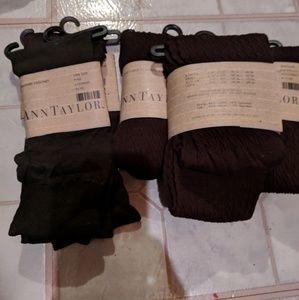 Bundle Ann Taylor tights and socks